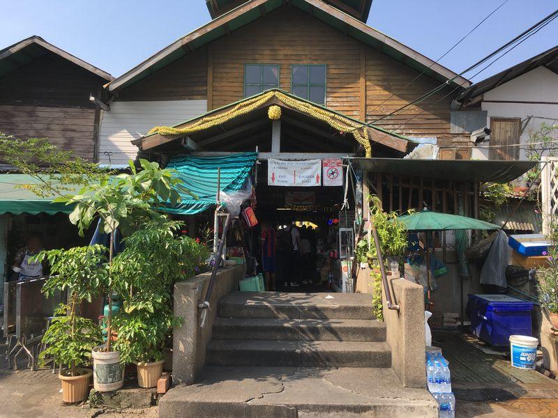 タイ バンコク ワット・アルン 渡し舟 船 ターティアン船着場
