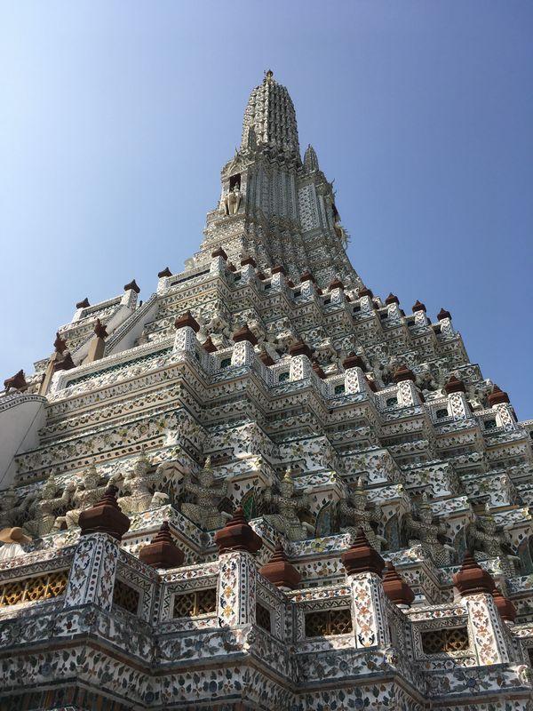 タイ バンコク ワット・アルン 大仏塔
