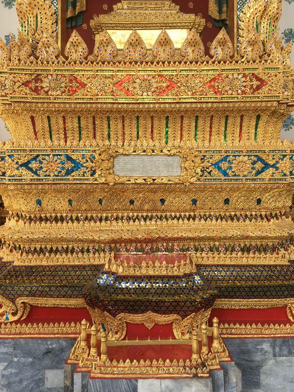 タイ バンコク ワット・アルン 本堂 装飾