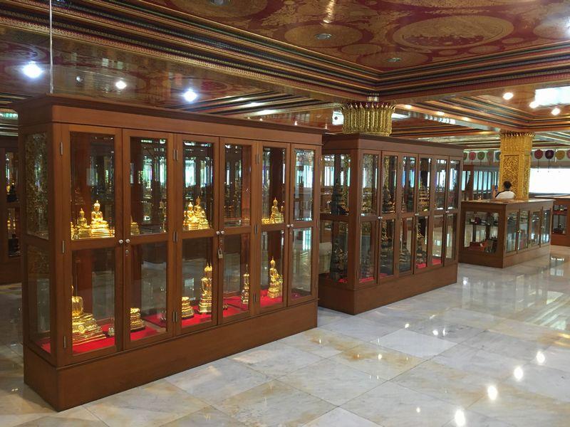 タイ バンコク ワット・パクナム 大仏塔 3階 サンマクナーロム室 博物館