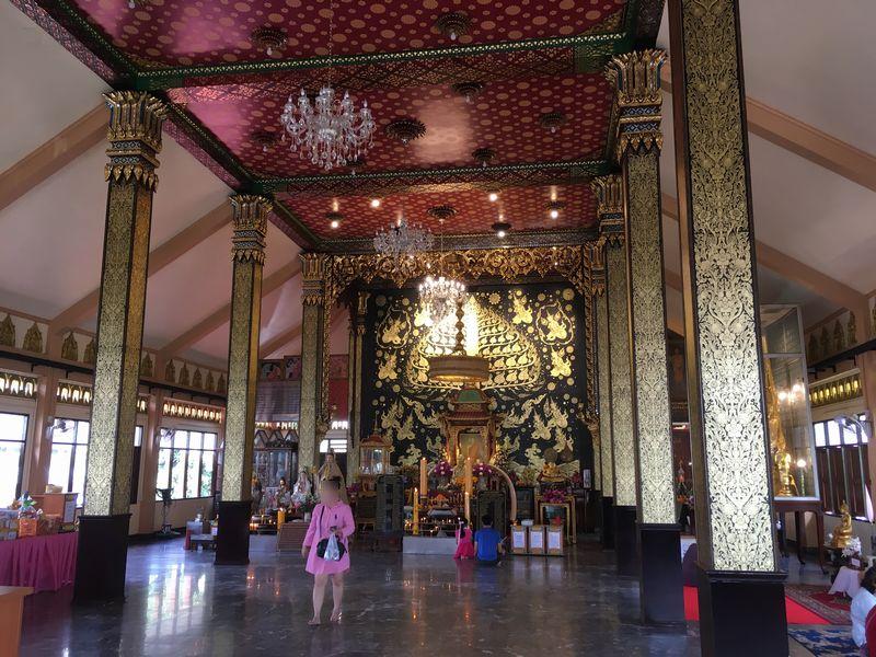 タイ バンコク Wat Pradu Chim Phli ワット・プラドゥー・チムプリー