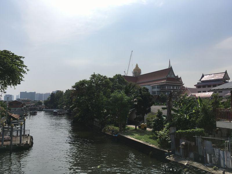 タイ バンコク Bangkok Yai バーンコークヤイ 運河 川