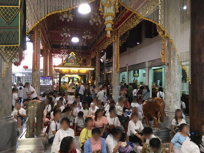 タイ バンコク ワット・パクナム