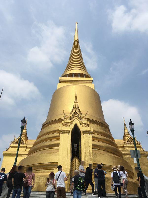 タイ バンコク ワット・プラケオ プラ・シー・ラタナー・チェディ