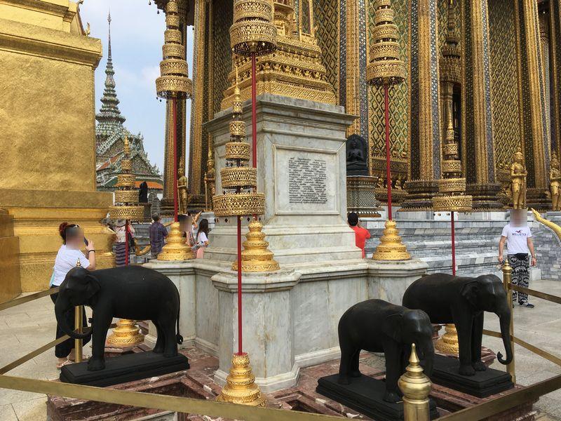 タイ バンコク ワット・プラケオ 象