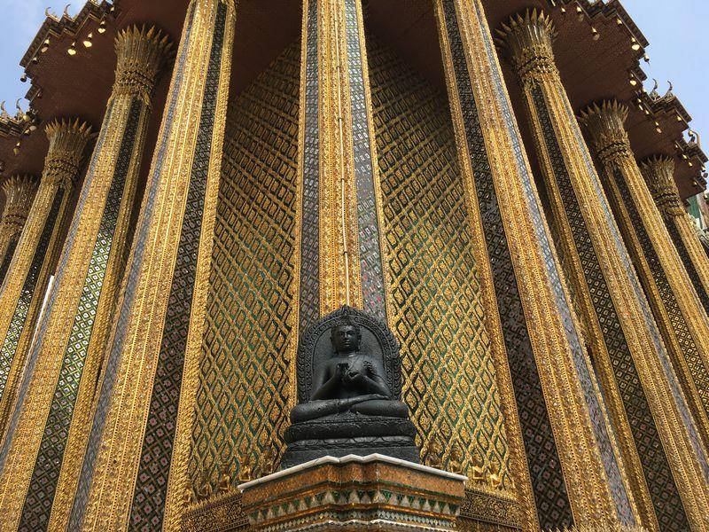 タイ バンコク ワット・プラケオ 像