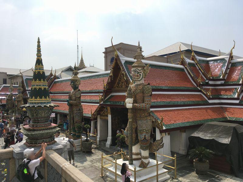 タイ バンコク ワット・プラケオ ヤック 像