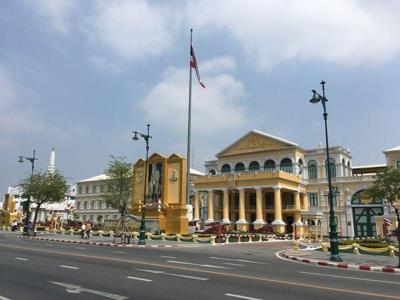 タイ バンコク 国防省
