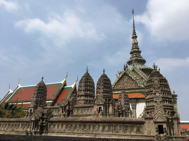タイ バンコク ワット・プラケオ アンコールワット