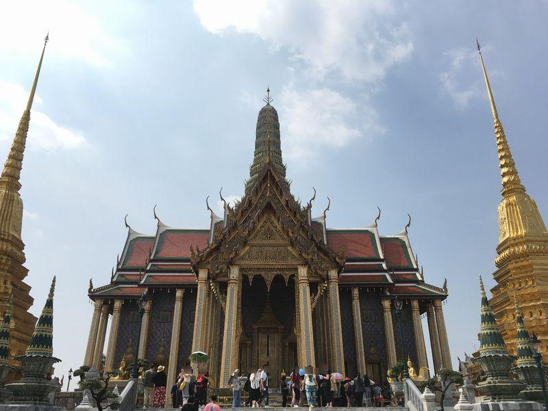 タイ バンコク ワット・プラケオ プラサート・プラテープ・ビドーン