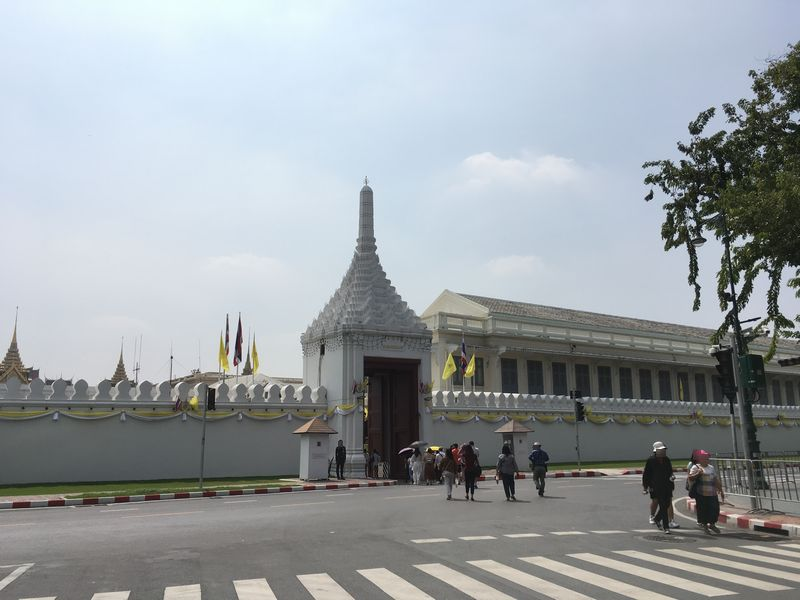 タイ バンコク ワット・プラケオ 王宮 門