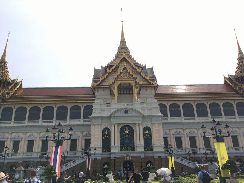 タイ バンコク 王宮 チャクリーマハープラサート宮殿 チャクリー宮殿