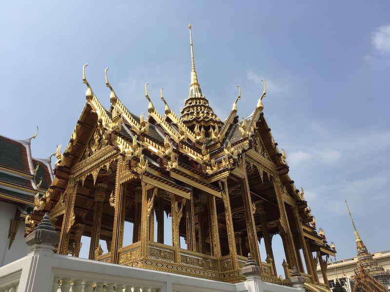タイ バンコク 王宮 アーポーンピモークプラサート宮殿 Aphorn Phimok Prasat Pavilion