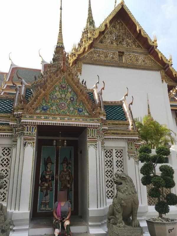 タイ バンコク 王宮 ドゥシットマハープラーサート宮殿 ドゥシット宮殿 ドア