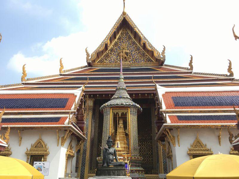 タイ バンコク ワット・プラケオ 本堂