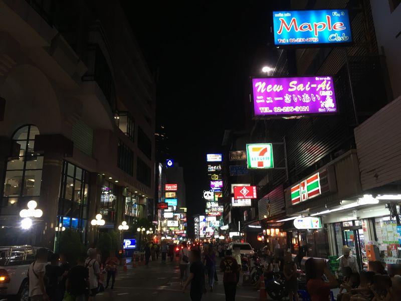 タイ バンコク タニヤ通り
