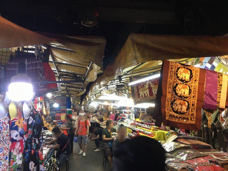 タイ バンコク パッポン通り