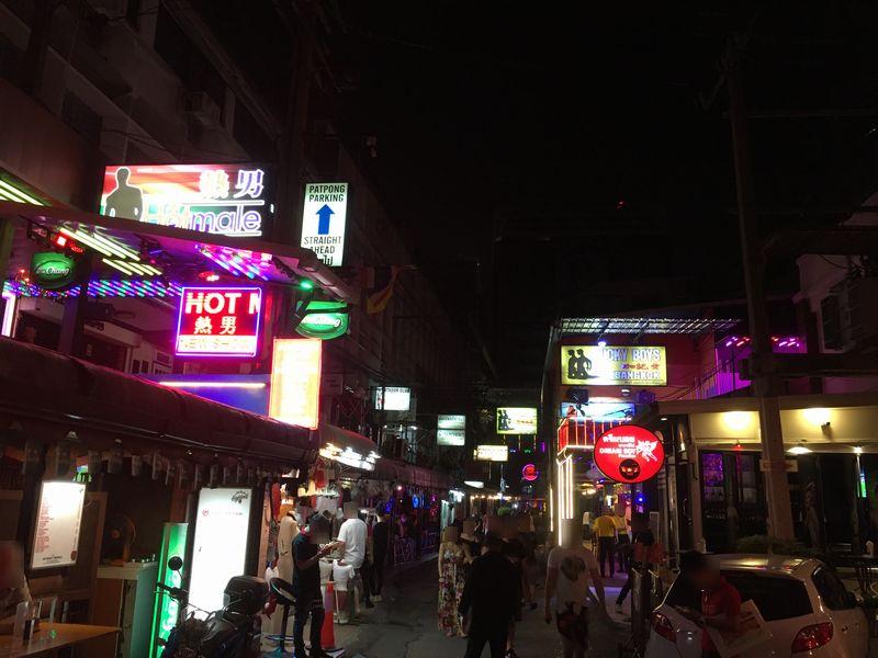 タイ バンコク パッポン通り ゴーゴーボーイ 熱男 HOT MALE