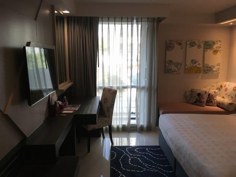 タイ バンコク ホテル クローバー アソーク HOTEL CLOVER ASOKE 部屋