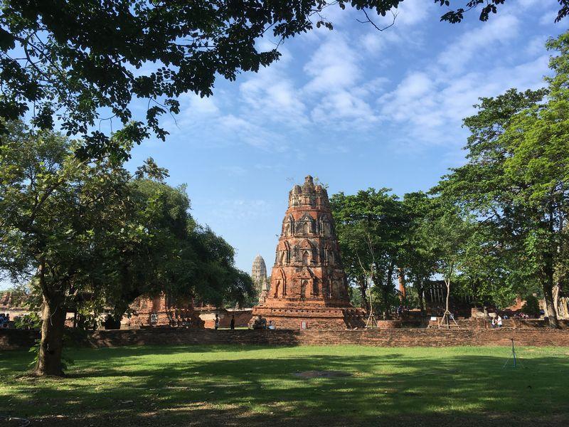 タイ アユタヤ遺跡 ワット・マハタート