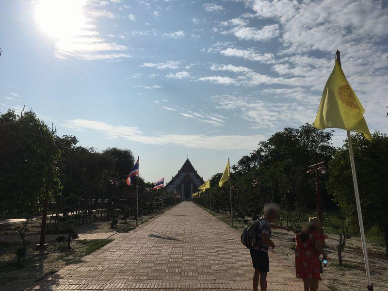 タイ アユタヤ遺跡 ウィハーン・プラ・モンコン・ボピット
