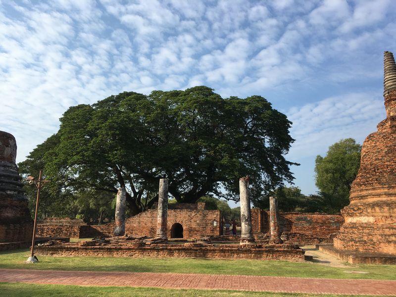 タイ アユタヤ遺跡 ワット・プラ・シーサンペット
