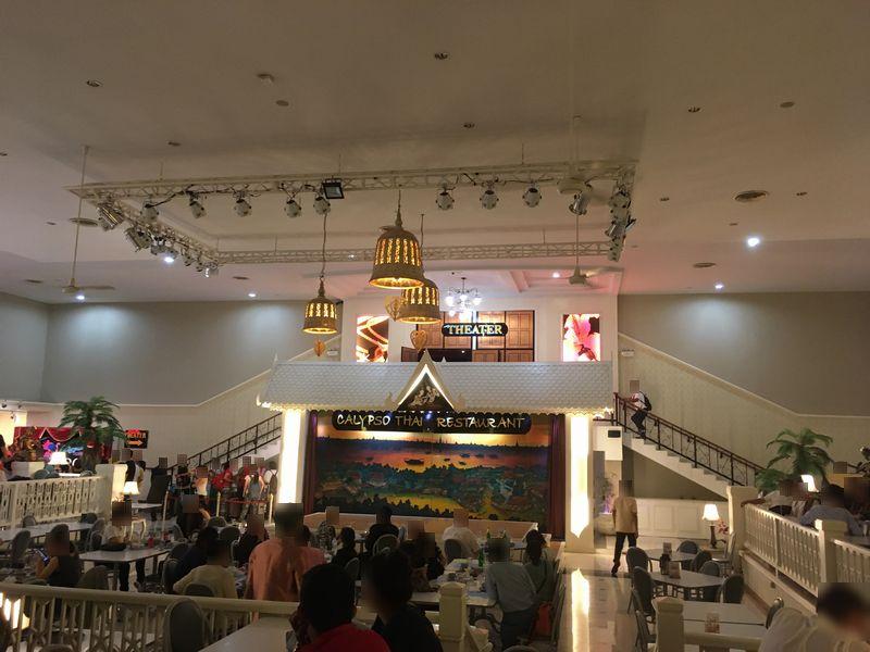 タイ バンコク アジアティーク・ザ・リバーフロント カリプソキャバレー ニューハーフショー カリプソ・タイ・レストラン
