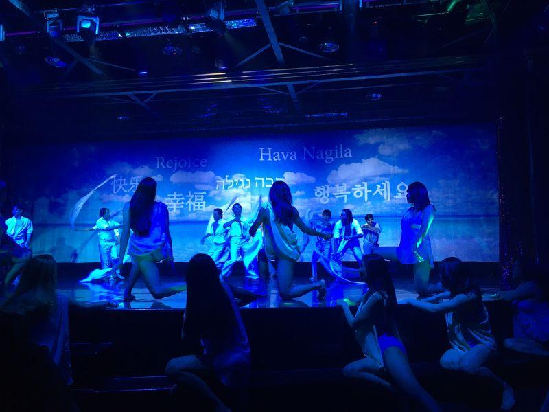 タイ バンコク アジアティーク・ザ・リバーフロント カリプソキャバレー ニューハーフショー