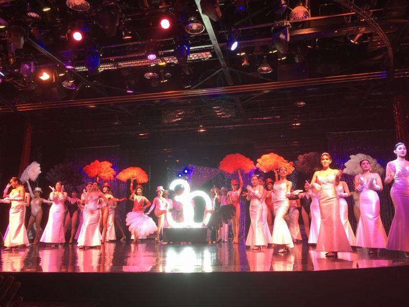 タイ バンコク アジアティーク・ザ・リバーフロント カリプソキャバレー ニューハーフショー 30