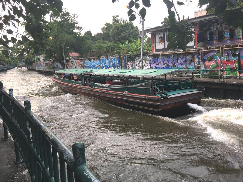 タイ バンコク 水上バス