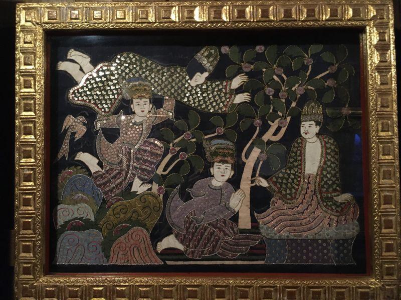 タイ バンコク ジム・トンプソンの家 絵