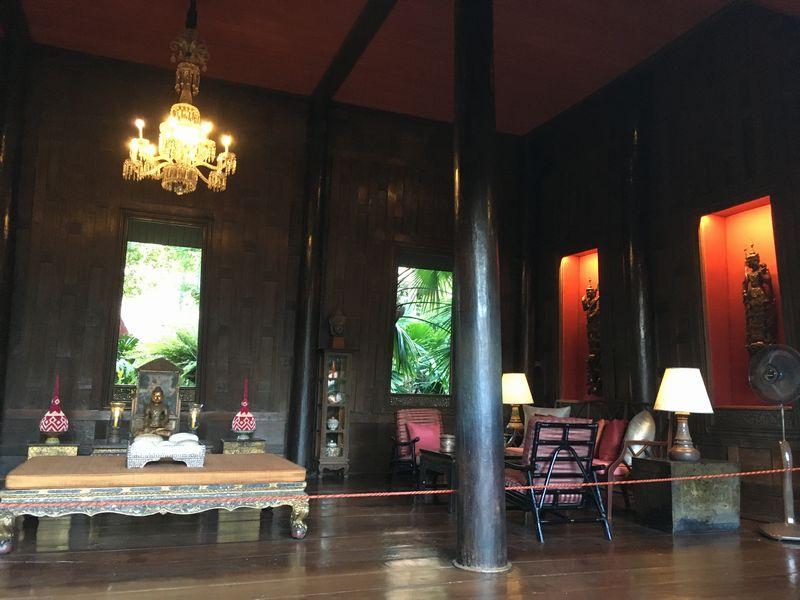 タイ バンコク ジム・トンプソンの家 部屋