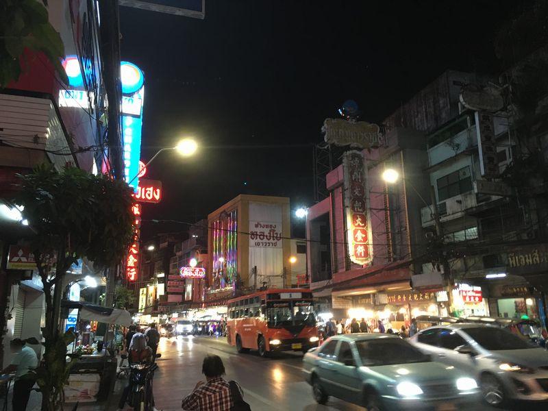 タイ バンコク ヤワラート通り チャイナタウン