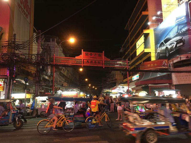 タイ バンコク ヤワラート通り チャイナタウン 關帝古廟 関帝古廟 馬将軍爺
