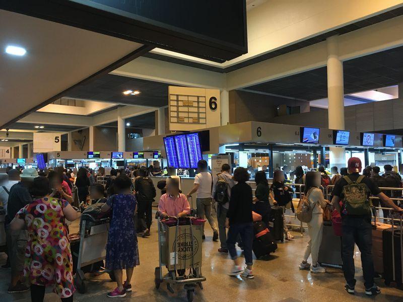 タイ バンコク ドンムアン国際空港