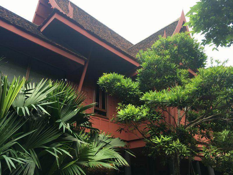 タイ バンコク ジム・トンプソンの家